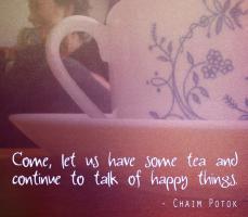 Chaim Potok's quote