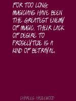 Charles Hazlewood's quote