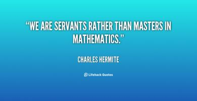 Charles Hermite's quote #1