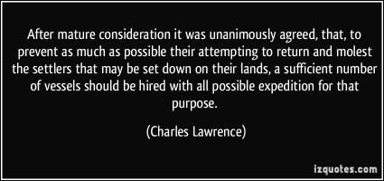 Charles Lawrence's quote #1