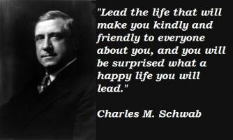 Charles M. Schwab's quote