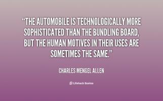 Charles Mengel Allen's quote
