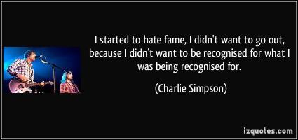 Charlie Simpson's quote