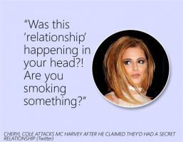 Cheryl Cole's quote
