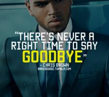 Chris Brown's quote