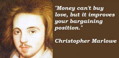 Christopher Marlowe's quote