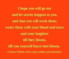 Clarissa Pinkola Estes's quote