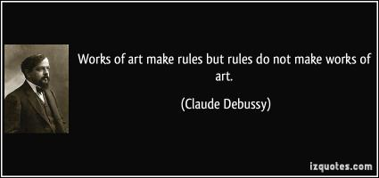 Claude Debussy's quote
