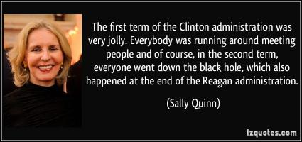 Clinton Administration quote #2