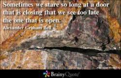 Closes quote