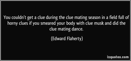 Clues quote #2