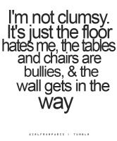 Clumsy quote #4