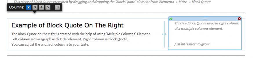 Column quote #1