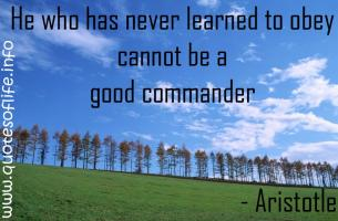 Commander quote #2