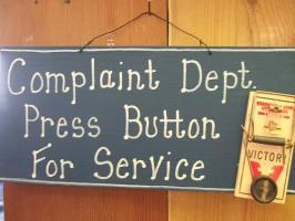 Complainer quote #1