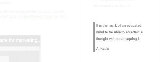 Concrete quote #4
