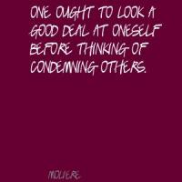 Condemning quote #1