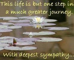 Condolences quote #1