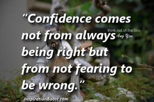 Confided quote #1