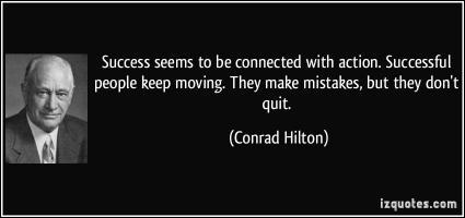 Conrad Hilton's quote