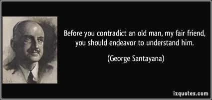 Contradict quote