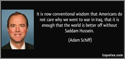 Conventional Wisdom quote #2