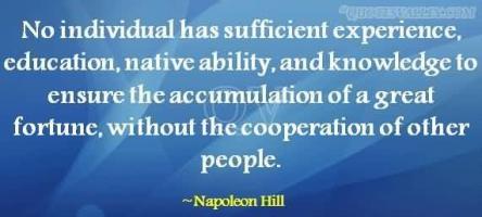 Cooperation quote #2