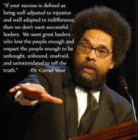 Cornel West's quote