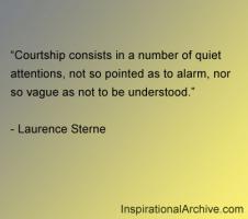 Courtship quote #2