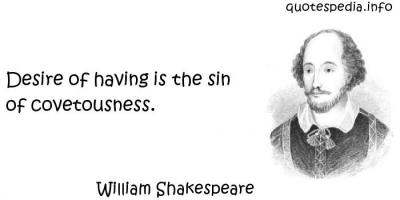 Covetousness quote #2