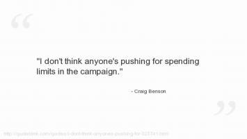 Craig Benson's quote
