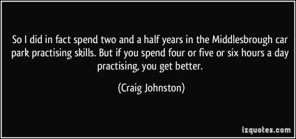 Craig Johnston's quote