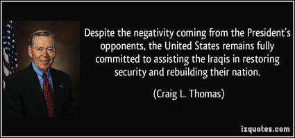 Craig L. Thomas's quote
