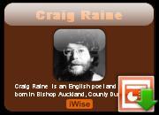 Craig Raine's quote