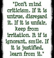 Critique quote #1