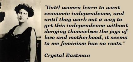 Crystal Eastman's quote