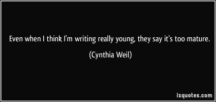 Cynthia Weil's quote