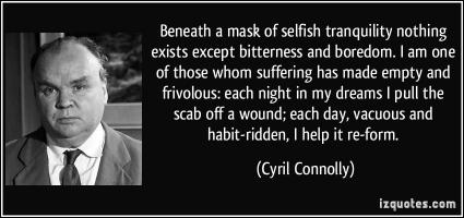 Cyril Connolly's quote