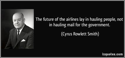Cyrus Rowlett Smith's quote