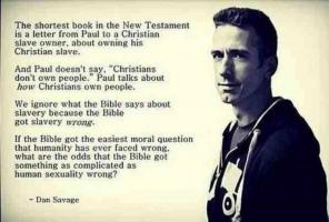 Dan Savage's quote