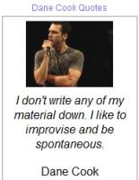 Dane Cook's quote
