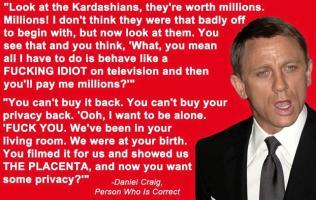 Daniel Craig's quote