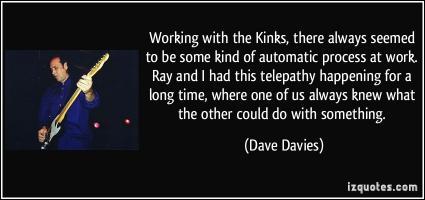 Dave Davies's quote