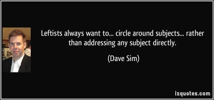 Dave Sim's quote