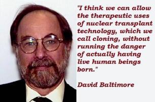 David Baltimore's quote