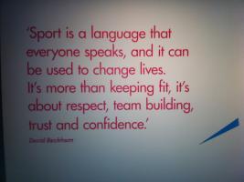 David Beckham's quote