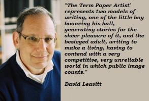 David Leavitt's quote #3
