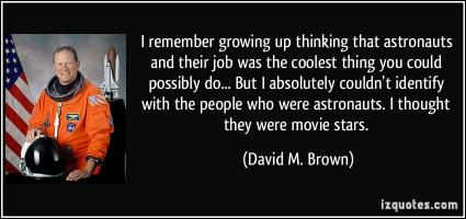 David M. Brown's quote