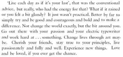 David Nicholls's quote