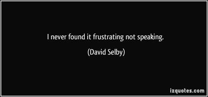 David Selby's quote